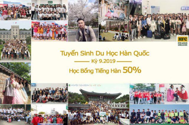 HFC tuyển sinh du học Hàn Quốc 2019