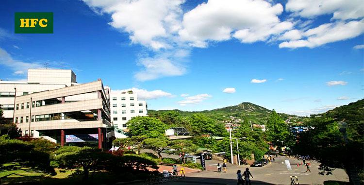 Một góc trường Đại Học Sangmyung