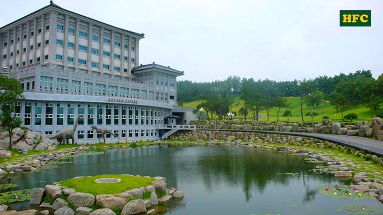 Du học Đại học JungWon - Ngôi trường hiện đại và văn minh bậc nhất sứ kim chi