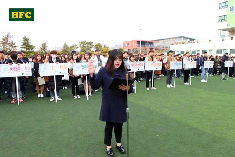 Giao lưu ngoại khóa tại Trường Đại học Tongmyong Hàn Quốc – 동명대학교